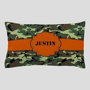 Camo Print Personalized Pillow Case
