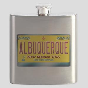 newmexico_licenseplate_albuquerque Flask