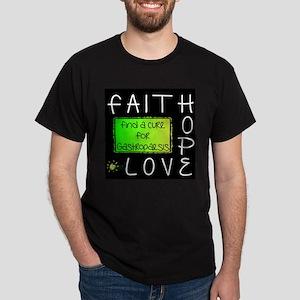 Faith, Hope, Love, Cure T-Shirt