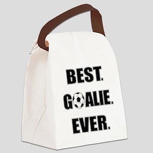 Best. Goalie. Ever. Canvas Lunch Bag