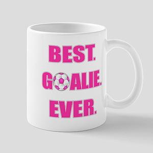 Best. Goalie. Ever. Pink Mug