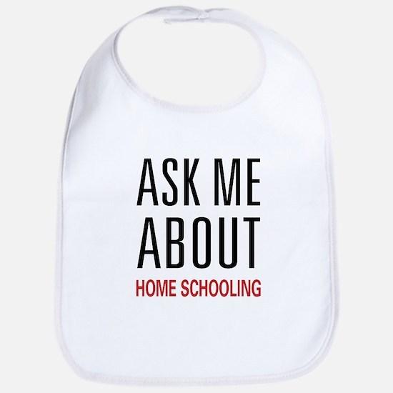 Ask Me Homeschooling Bib
