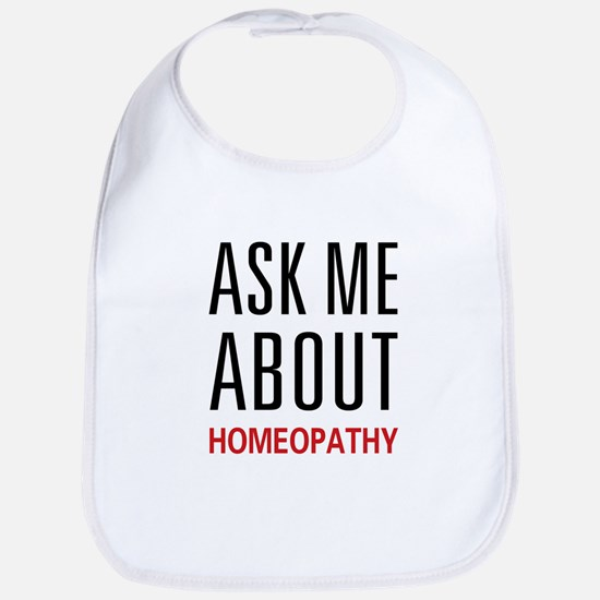 Ask Me Homeopathy Bib