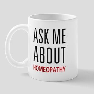Ask Me Homeopathy Mug