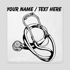 Custom Stethoscope Queen Duvet