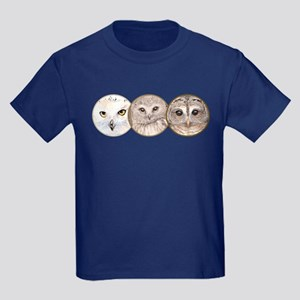 night owls, Kids Dark T-Shirt