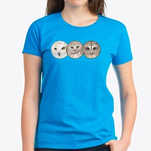 night owls, Women's Dark T-Shirt
