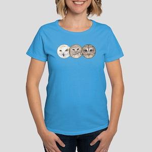 night owls, Women's Dark T-Shirt