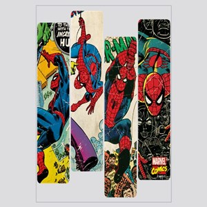 Spiderman Comic Panel Wall Art