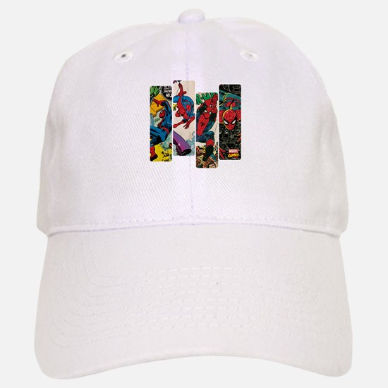 Spiderman Comic Panel Baseball Baseball Cap