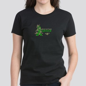 Spinal Cord Injury Survivor 3 Women's Dark T-Shirt