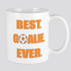 Best. Goalie. Ever. Orange Mug