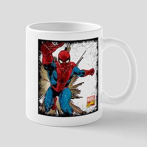 Spidey Retro Grunge Mug