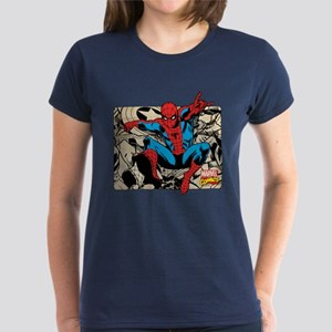 Spidey Retro Women's Dark T-Shirt