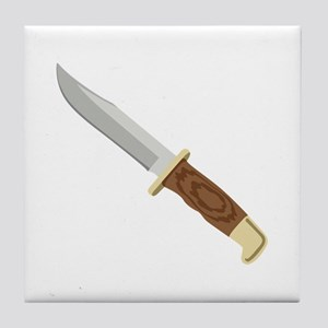 Buck Knife Tile Coaster