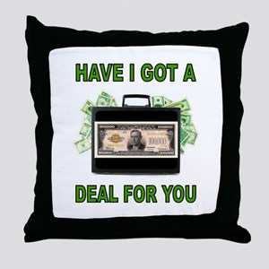 BIG DEAL Throw Pillow