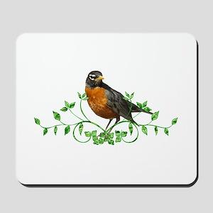 Beautiful Robin Mousepad