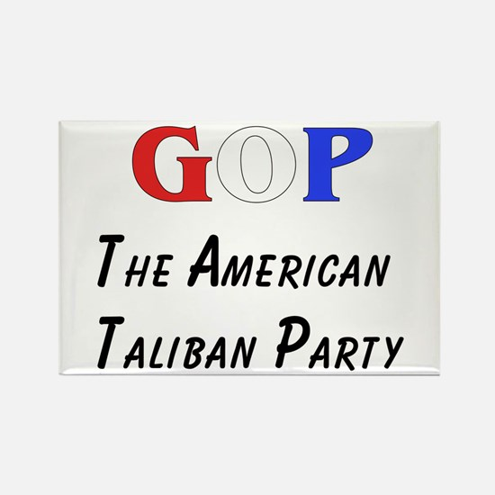 GOP American Taliban Rectangle Magnet