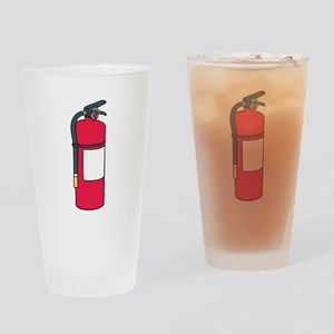 Fire Extinguisher Drinking Glass