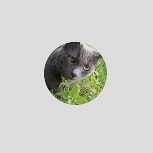 Garden Cat Mini Button