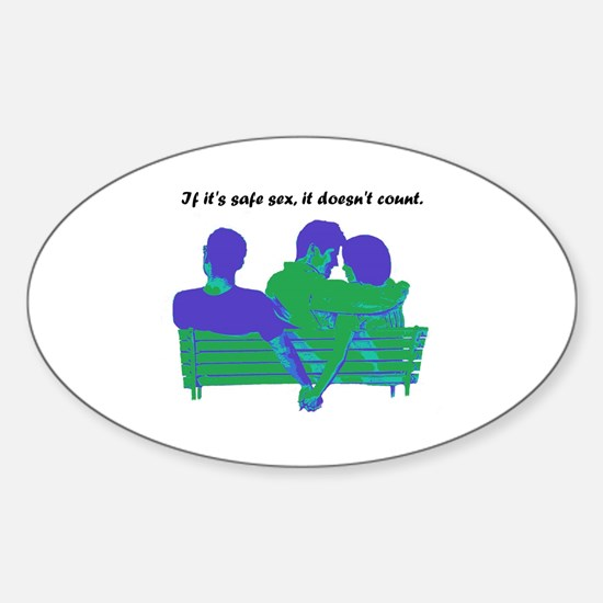 Cheaters Sticker (Oval)