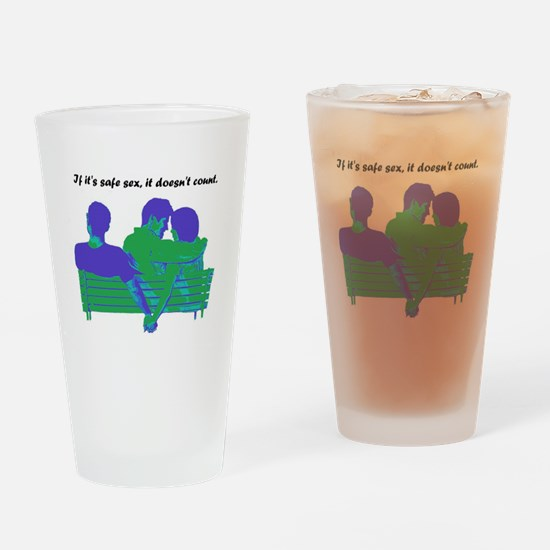 Cheaters Drinking Glass