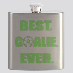 Best. Goalie. Ever. Green Flask