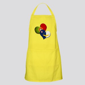 Portugal and Azores hearts Apron
