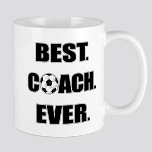 Best. Coach. Ever. Black Mug