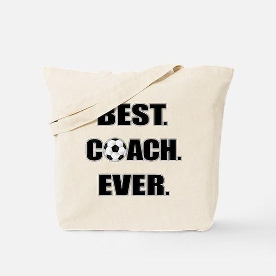 Best. Coach. Ever. Black Tote Bag
