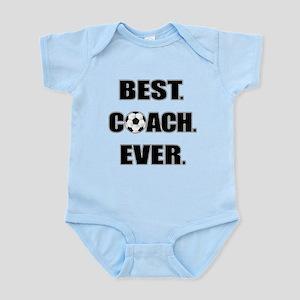 Best. Coach. Ever. Black Infant Bodysuit