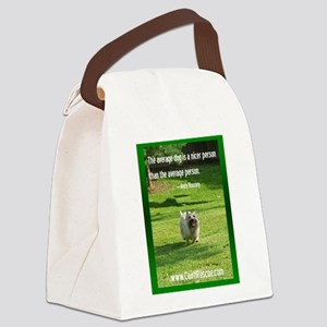 The Average Dog Canvas Lunch Bag