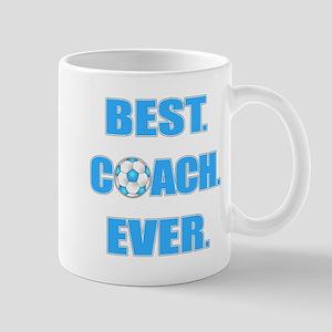 Best. Coach. Ever. Blue Mug