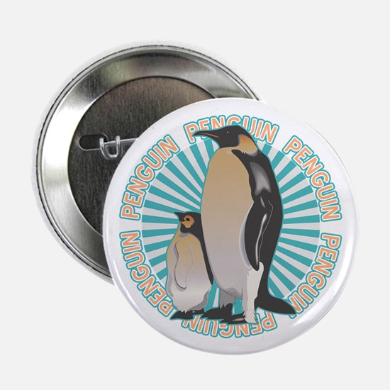 "Penguin Animal Classic 2.25"" Button"
