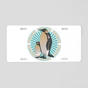 Penguin Animal Classic Aluminum License Plate
