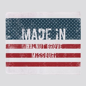 Made in Walnut Grove, Missouri Throw Blanket