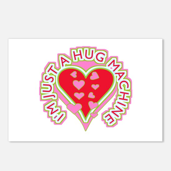 Just A Hug Machine Postcards (Package of 8)