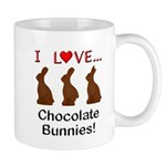 I Love Chocolate Bunnies Mug