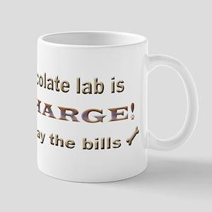chocolate lab Mugs