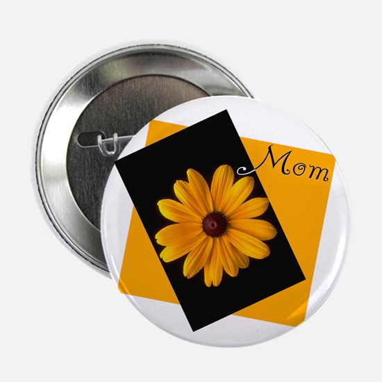 Mom (Sunny Flower) Button