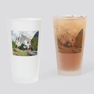 Grindelwald, Alpine Village Drinking Glass