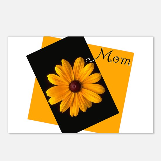 Mom (Sunny Flower) Postcards (Package of 8)