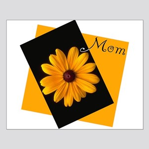 Mom (Sunny Flower) Small Poster