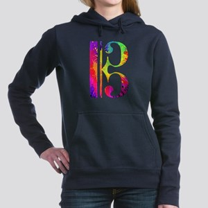 Colorful Alto Clef Hooded Sweatshirt