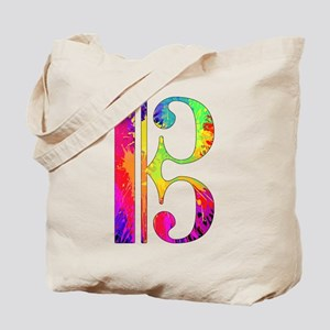 Colorful Alto Clef Tote Bag