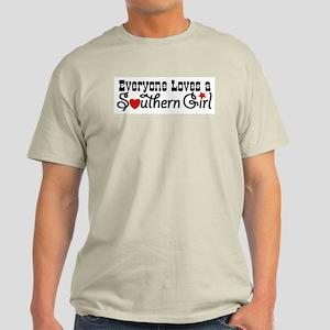 Everyone Loves a Southern Gir Light T-Shirt