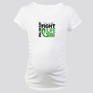 Spinal Cord Injury FightOfMyLife Maternity T-Shirt