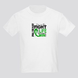 Spinal Cord Injury FightOfMyLif Kids Light T-Shirt