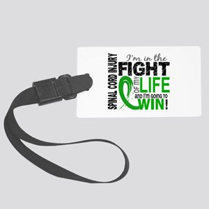 Spinal Cord Injury FightOfMyLife Large Luggage Tag