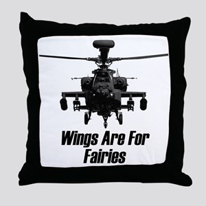 Wing are for Fairies Throw Pillow